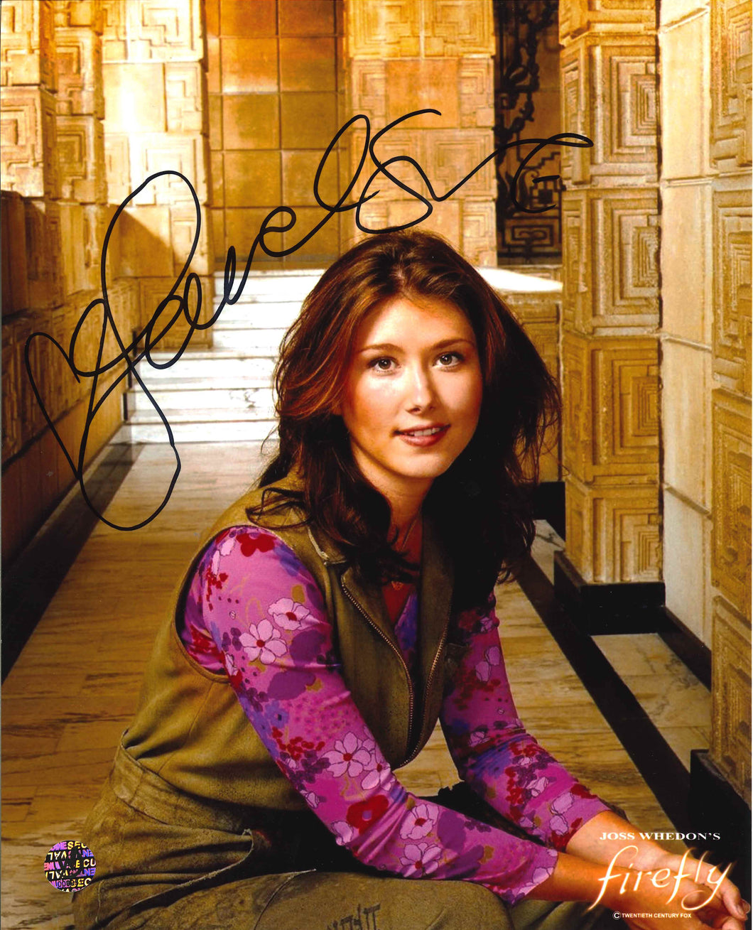 Jewel Staite Signed Firefly Photo