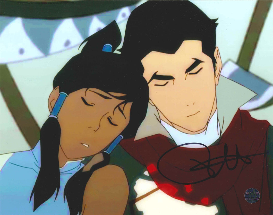 David Faustino Signed The Legend of Korra Photo