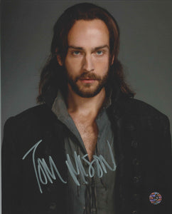 Tom Mison Signed Sleepy Hollow Photo