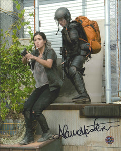 Alana Masterson Signed The Walking Dead Photo