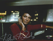 Load image into Gallery viewer, Nichelle Nichols Signed Star Trek Photo