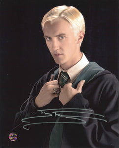 Tom Felton Signed Harry Potter Photo
