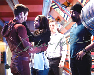 Candice Patton Signed The Flash Photo