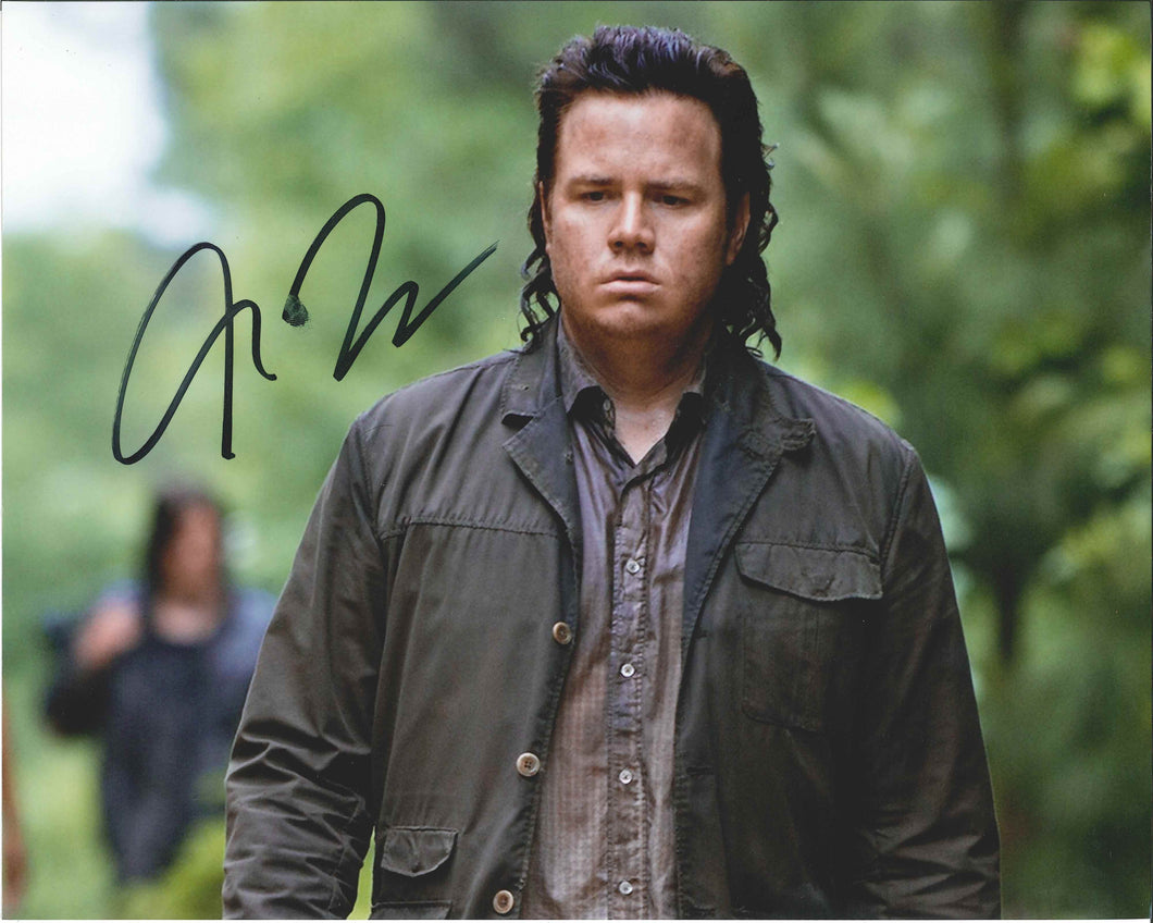 Josh McDermitt Signed The Walking Dead Photo (Less Than Perfect)