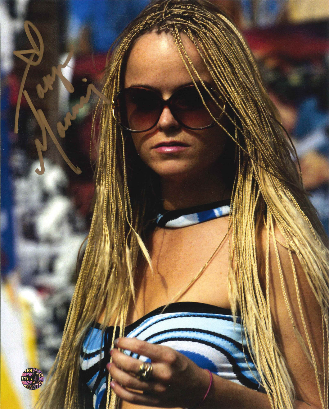 Taryn Manning Signed Hustle and Flow Photo