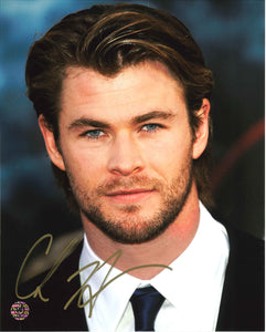 Chris Hemsworth Signed Photo