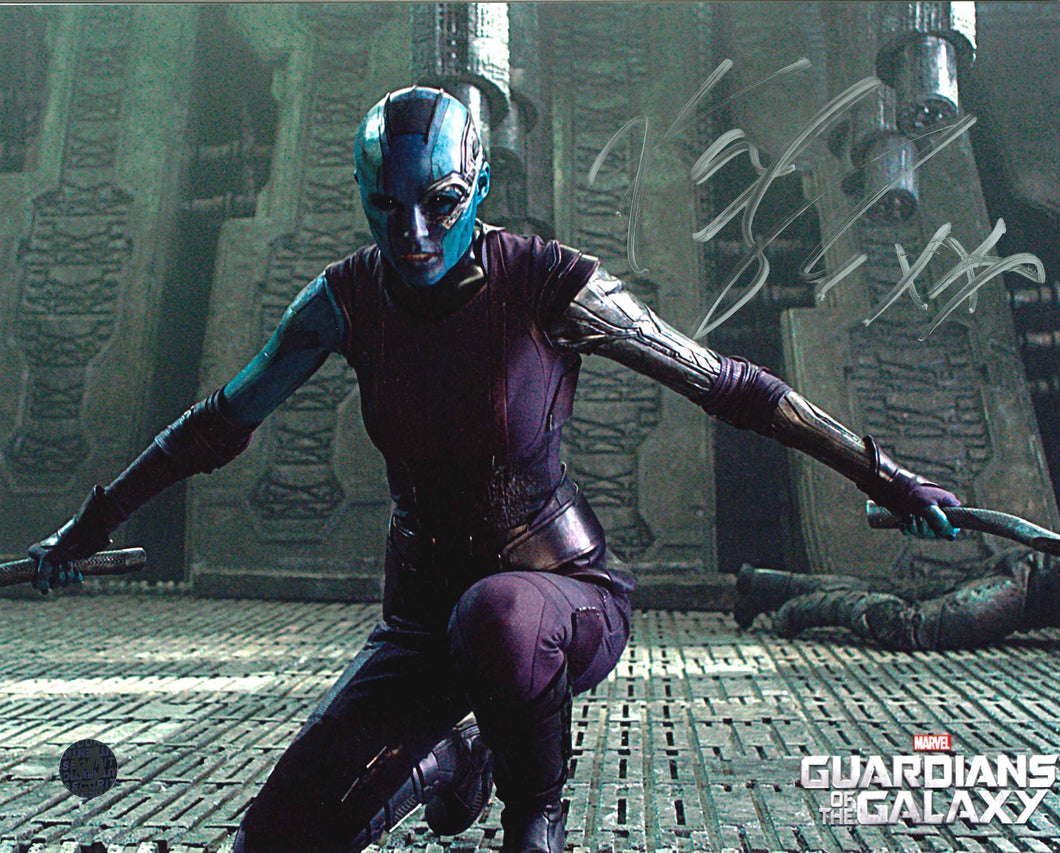 Karen Gillan Signed Guardians of the Galaxy Photo