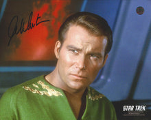 Load image into Gallery viewer, William Shatner Signed Star Trek Photo