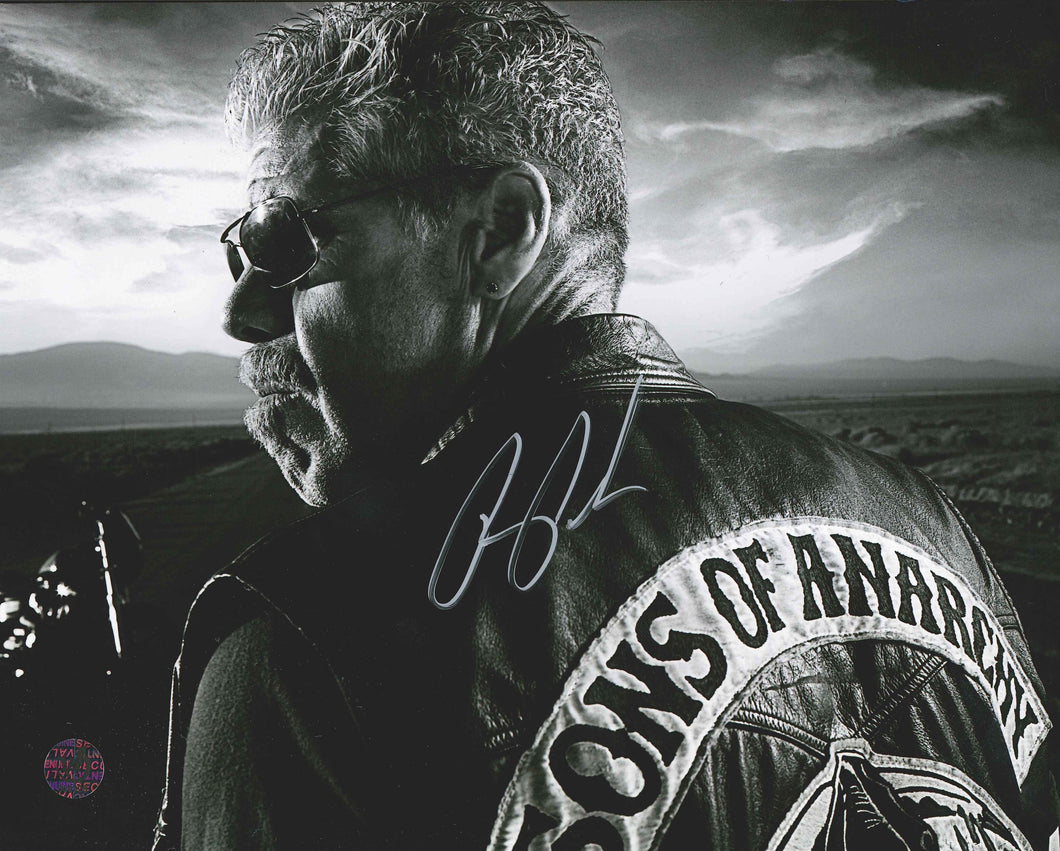 Ron Perlman Signed Sons of Anarchy Photo
