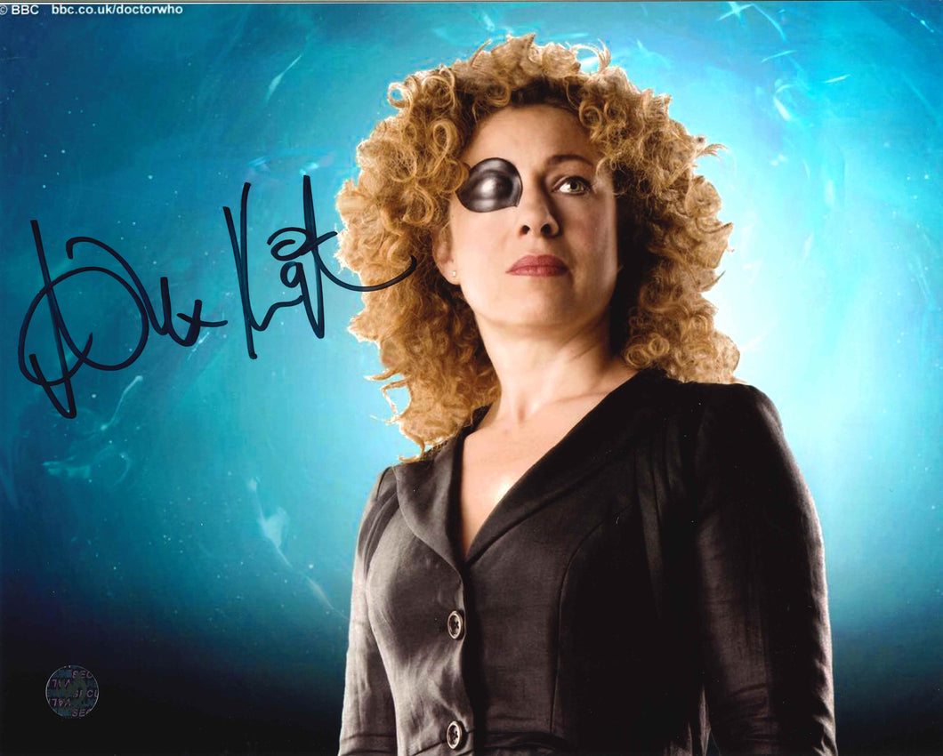 Alex Kingston Signed Doctor Who Photo