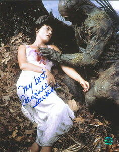 Adrienne Barbeau Signed Swamp Thing Photo