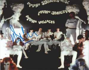 Malcolm McDowell Signed A Clockwork Orange Photo