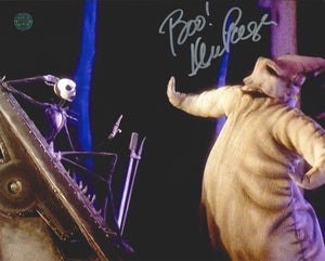 Ken Page Signed The Nightmare Before Christmas Photo