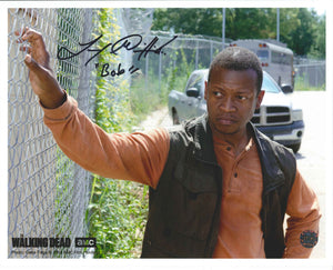 Lawrence Gilliard Jr. Signed The Walking Dead Photo
