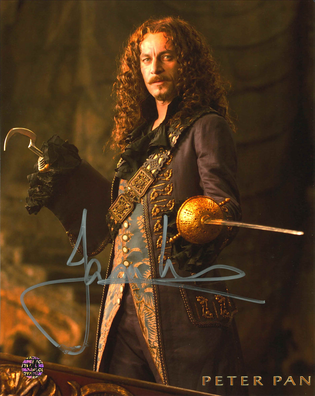 Jason Isaacs Signed Peter Pan Photo