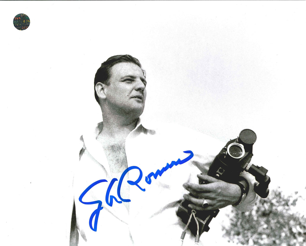 George A. Romero Signed Night of the Living Dead Photo