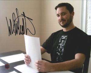 Wil Wheaton Signed Photo