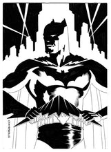 "Load image into Gallery viewer, Jim Steranko Original Artwork ""The Gotham City Avenger"""