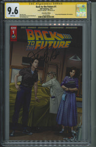 Back To The Future #1 CGC 9.6 Signed by Michael J. Fox
