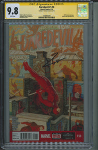 Daredevil #1.50 CGC 9.8 Signed by Charlie Cox