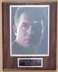 Mark Ruffalo Signed Avengers Plaque