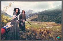 Load image into Gallery viewer, Caitriona Balfe Signed Outlander 12x18 Poster