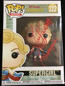 Laura Vandervoort Signed Supergirl Funko Pop