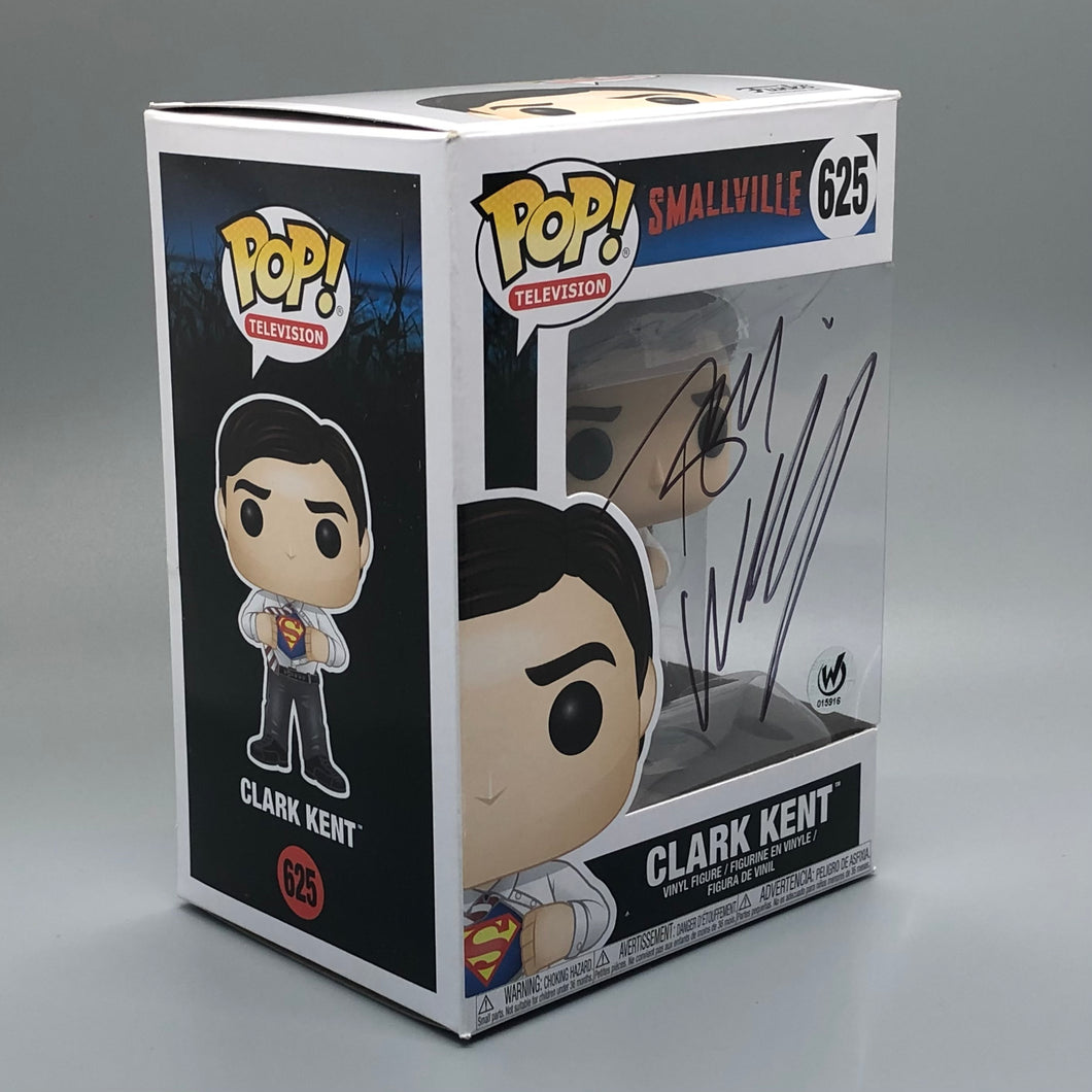 Tom Welling Signed Clark Kent Funko Pop