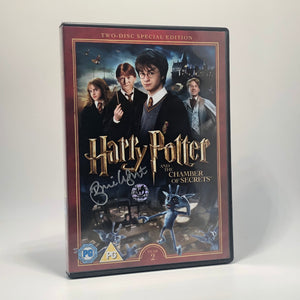 Bonnie Wright Signed Harry Potter DVD