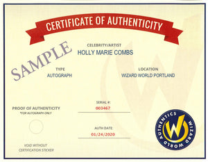 WizAuth Authentication For Virtual Experience Autograph Purchases