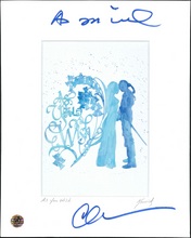 "Load image into Gallery viewer, Cary Elwes Signed ""As You Wish"" Artwork."