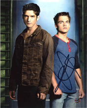 Load image into Gallery viewer, Dylan Sprayberry Signed Teen Wolf Photo