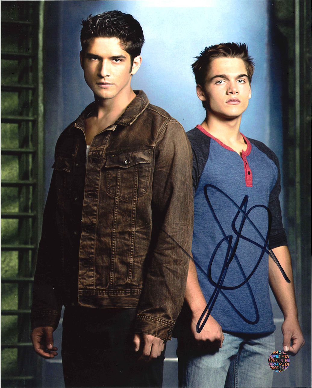 Dylan Sprayberry Signed Teen Wolf Photo