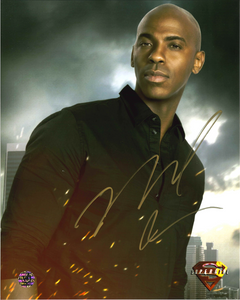 Mehcad Brooks Signed Supergirl Photo