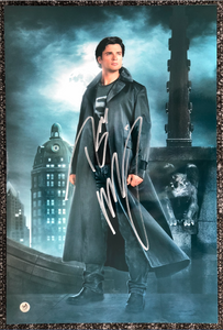 Tom Welling Signed Smallville Poster