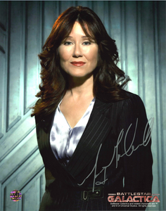 Mary McDonnell Signed Battlestar Galactica Photo