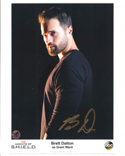Load image into Gallery viewer, Brett Dalton Signed Agents Of S.H.I.E.L.D. Photo