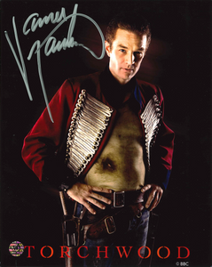 James Marsters Signed Torchwood Photo