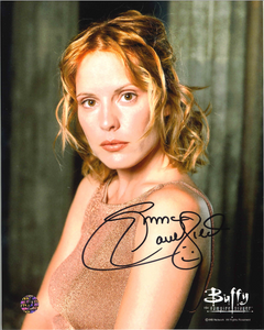 Emma Caulfield Signed Buffy The Vampire Slayer Photo