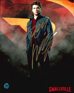 Tom Welling Signed Smallville Photo