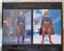 Load image into Gallery viewer, Melissa Benoist And Helen Slater Signed Supergirl Plaque