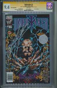 Undertaker #1 CGC 9.4 Signed by Undertaker