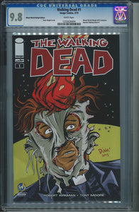 The Walking Dead #1 Wizard World Raleigh Edition CGC 9.8 Dean Haspiel Cover