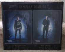 Load image into Gallery viewer, Ian Somerhalder And Paul Wesley Signed Vampire Diaries Plaque