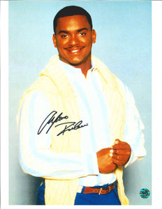 Alfonso Ribeiro Signed The Fresh Prince of Bel Air Photo