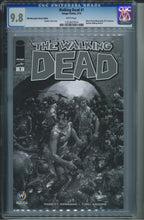 Load image into Gallery viewer, The Walking Dead #1 Wizard World Minneapolis Sketch Edition CGC 9.8 Clayton Crain Cover