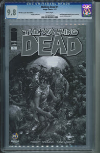 The Walking Dead #1 Wizard World Minneapolis Sketch Edition CGC 9.8 Clayton Crain Cover