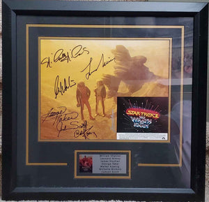 Star Trek The Wrath Of Kahn Cast Signed Photo