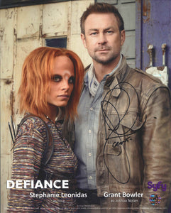 Grant Bowler Signed Defiance Photo