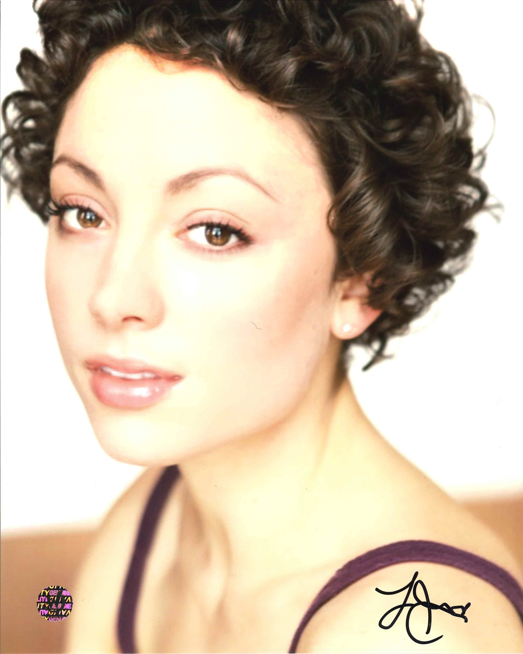 Leah Gibson Signed Photo
